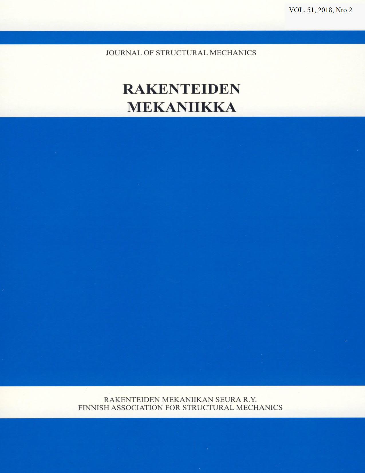 Näytä Vol 51 Nro 2 (2018)